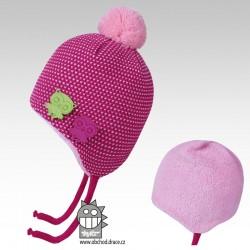 čepice pletená Elsa - vzor 06