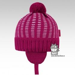 Pletená čepice Mikeš - vzor 02