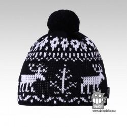 Čepice pletená norsk - vzor 01