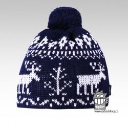 Čepice pletená norsk - vzor 02