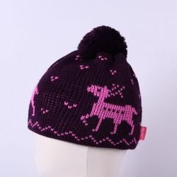 Čepice pletená norsk - vzor 04