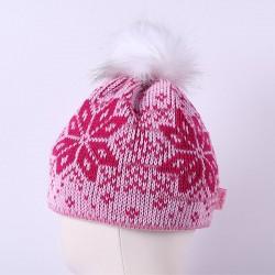 Čepice pletená norsk - vzor 07