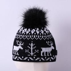 Čepice pletená norsk - vzor 08