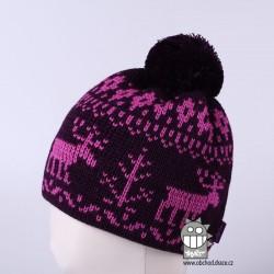 Čepice pletená norsk - vzor 18