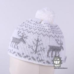 Čepice pletená norsk - vzor 19