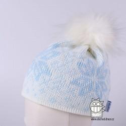 Čepice pletená norsk - vzor 17
