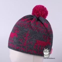 Čepice pletená norsk - vzor 21
