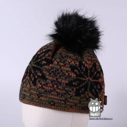 Čepice pletená norsk - vzor 26