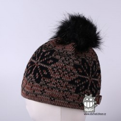 Čepice pletená norsk - vzor 27