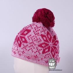 Čepice pletená norsk - vzor 32