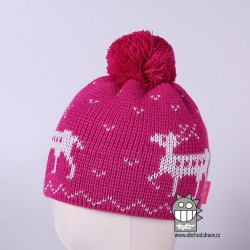 Čepice pletená norsk - vzor 29