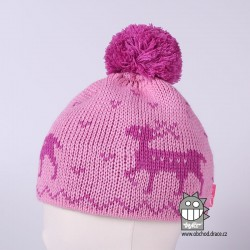 Čepice pletená norsk - vzor 33