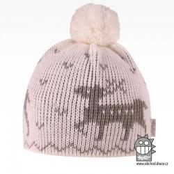 Čepice pletená norsk - vzor 35