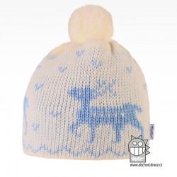 Čepice pletená norsk - vzor 37
