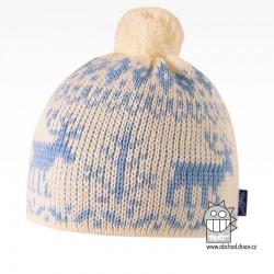 Čepice pletená norsk - vzor 38
