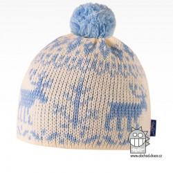 Čepice pletená norsk - vzor 39