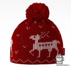 Čepice pletená norsk - vzor 40