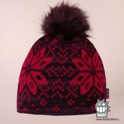Čepice pletená norsk - vzor 42