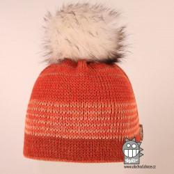 Čepice pletená norsk - vzor 44