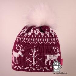 Čepice pletená norsk - vzor 48
