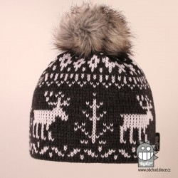 Čepice pletená norsk - vzor 51