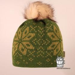 Čepice pletená norsk - vzor 52
