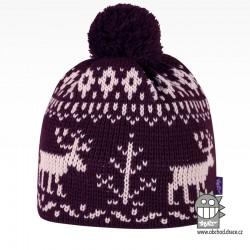 Čepice pletená norsk - vzor 54