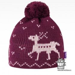 Čepice pletená norsk - vzor 56