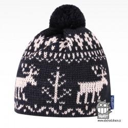 Čepice pletená norsk - vzor 57