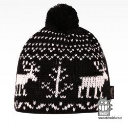 Čepice pletená norsk - vzor 58