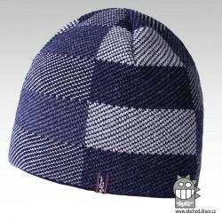 Čepice pletená podšitá fl - vzor 02