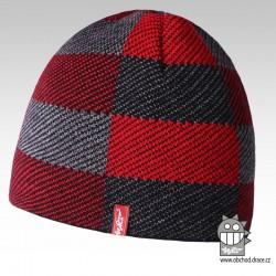 Čepice pletená podšitá fl - vzor 03