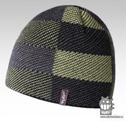 Čepice pletená podšitá fl - vzor 05