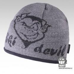 Čepice pletená podšitá fl2 - vzor 01