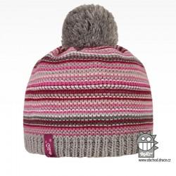 Čepice pletená Stripes - vzor 01