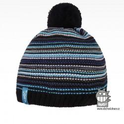Čepice pletená Stripes - vzor 06