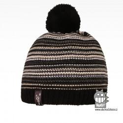 Čepice pletená Stripes - vzor 07