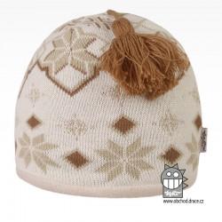 čepice pletená DOPRODEJ - vzor 52