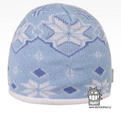 čepice pletená DOPRODEJ - vzor 54