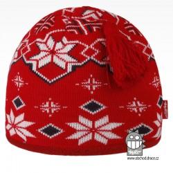 čepice pletená DOPRODEJ - vzor 55