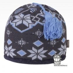 čepice pletená DOPRODEJ - vzor 56