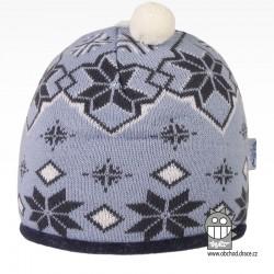 čepice pletená DOPRODEJ - vzor 57