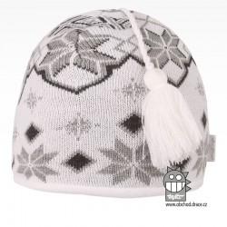 čepice pletená DOPRODEJ - vzor 59