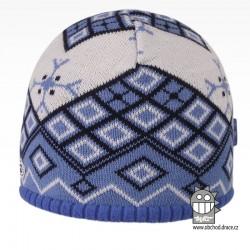čepice pletená DOPRODEJ - vzor 61