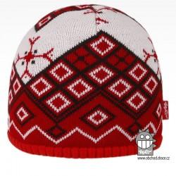 čepice pletená DOPRODEJ - vzor 62