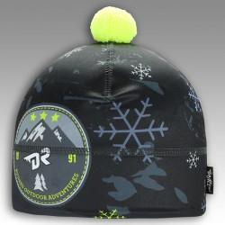 Flavio - zimní funkční čepice - vzor 25