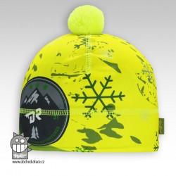 Flavio - zimní funkční čepice - vzor 42 - DOPRODEJ