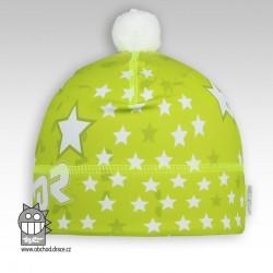 Flavio - zimní funkční čepice - vzor 60 - DOPRODEJ