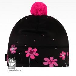 Flavio - zimní funkční čepice - vzor 108