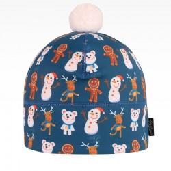 Flavio - zimní funkční čepice - vzor 114